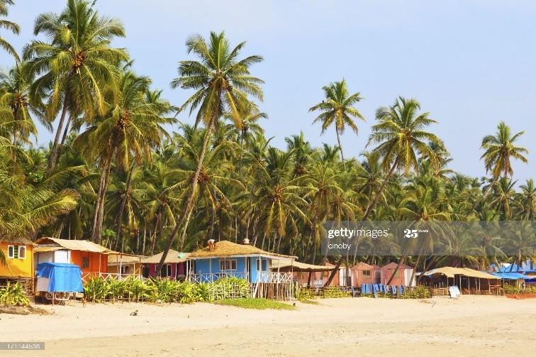 Palolem beach, Goa-travel in India after lockdown